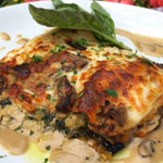White Lasagna with Mushrooms